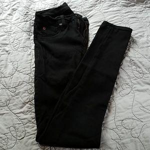 Sexy💋Hudson Black Skinny Stretch Jean's 26